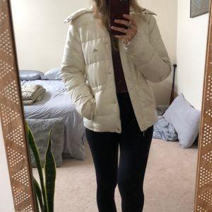 White Adidas winter Jacket